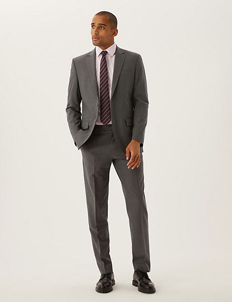 The Ultimate Charcoal Regular Fit Suit
