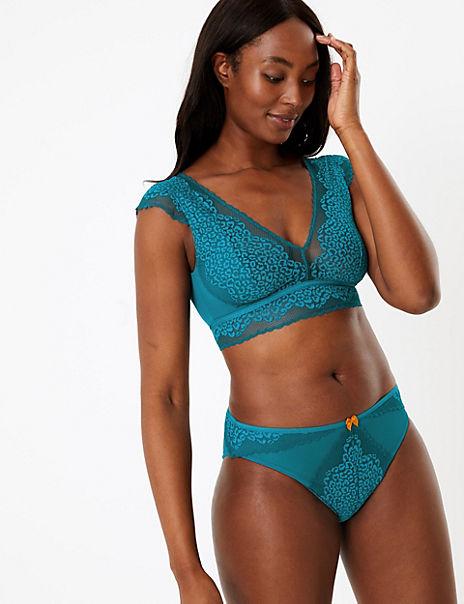 Leopard Lace Set with Bralet