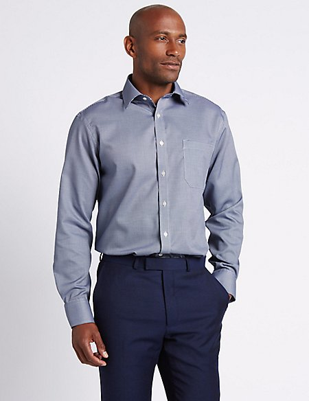Non-Iron Shirt Look
