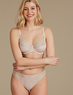 Vintage Lace Set with Non-Padded B-E