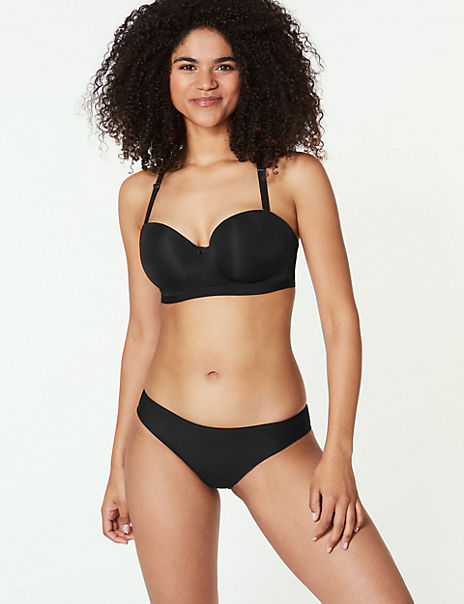 Body Padded Set with Strapless A-E