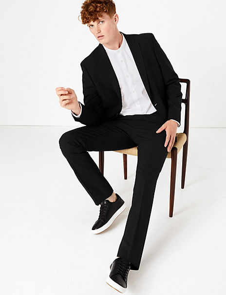 The Ultimate Black Skinny Fit Suit
