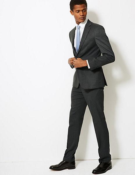 Grey Slim Fit Suit