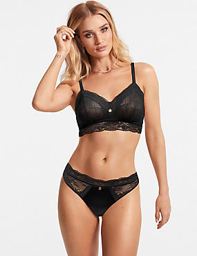 Silk & Lace Set with Bralet