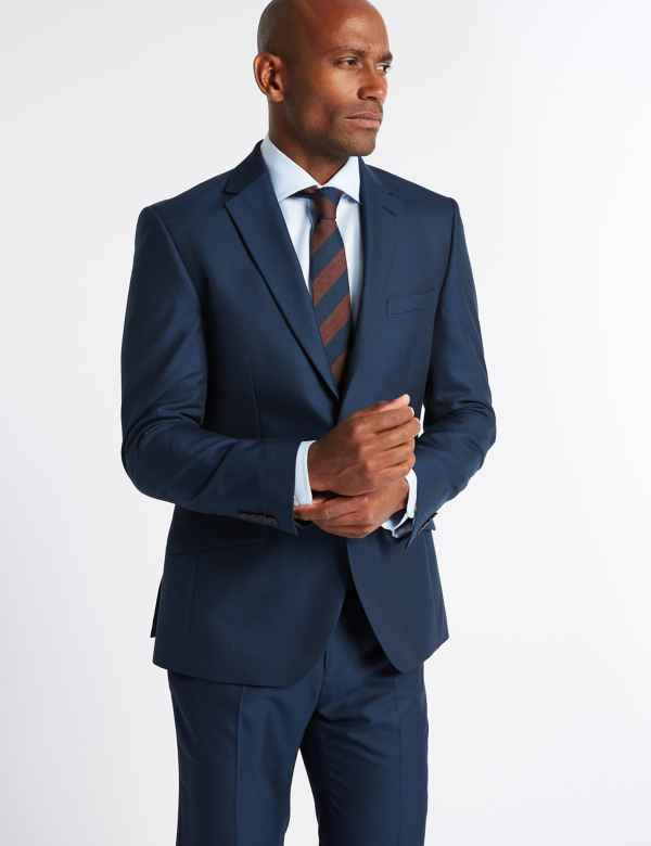 1e91291fbb9c Big & Tall Indigo Slim Fit Suit