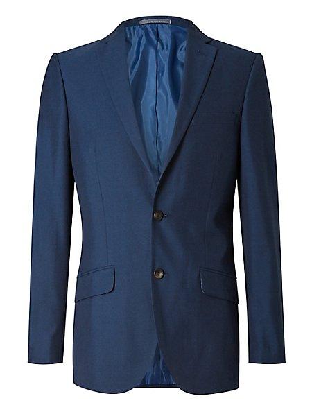 Big & Tall Indigo Slim Fit Suit