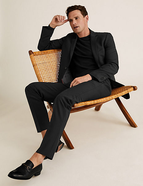 The Ultimate Black Slim Fit Suit