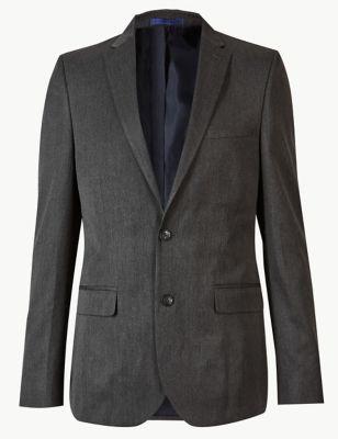 Grey Modern Slim Fit Suit by Marks & Spencer