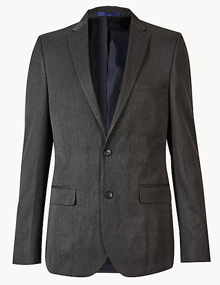 Grey Modern Slim Fit Suit