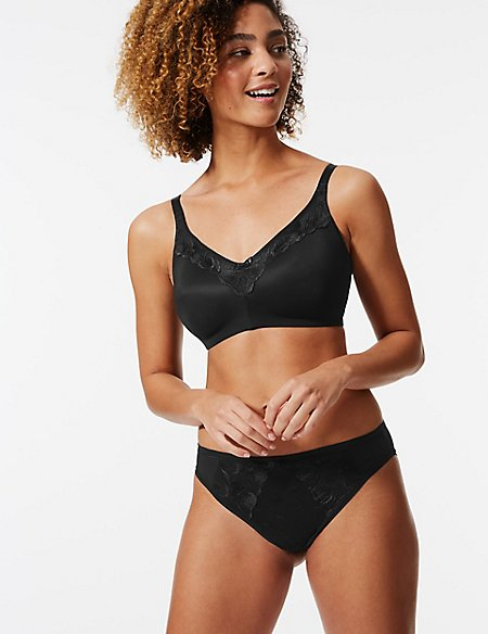 Olivia Embroidered Non-Padded Set with Balcony B-E