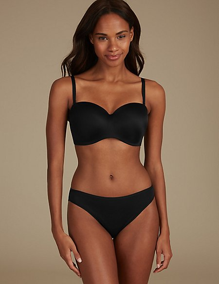 Non-Wired Set with Strapless A-E