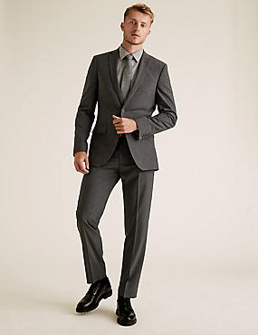 Big & Tall Tailored Fit Wool Suits