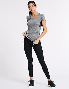Quick Dry Top & Leggings Outfit  , , catlanding