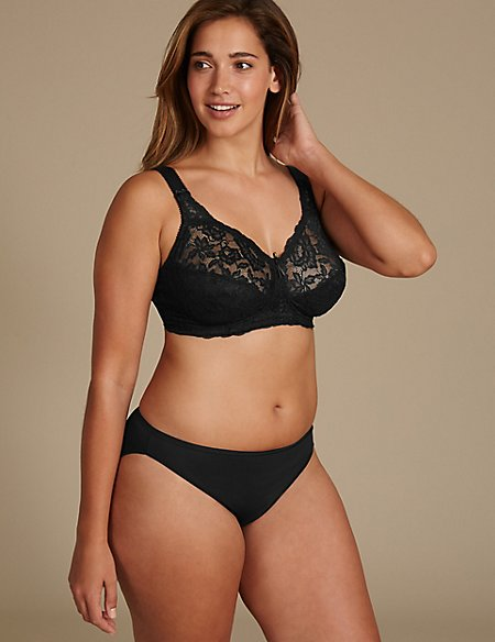 Total Support Lace Set with Full Cup B-G