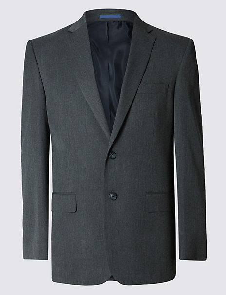Big & Tall Grey Regular Fit Suit