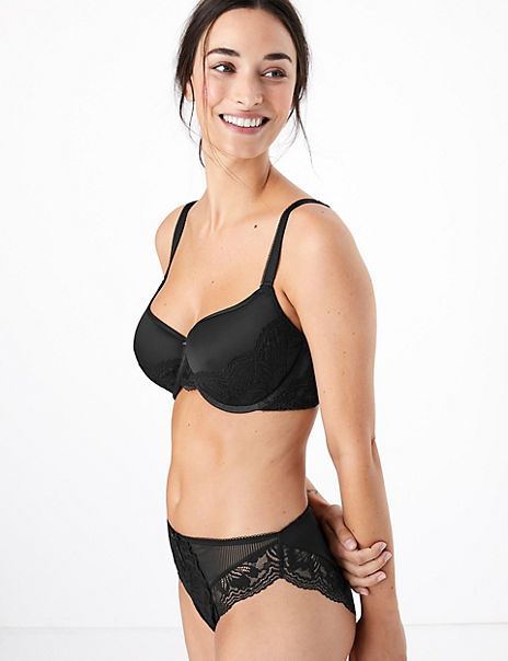 Nina Lace Set with Underwired Balcony A-E