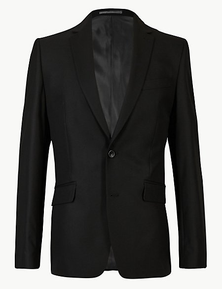 Black Slim Fit 3 Piece Suit