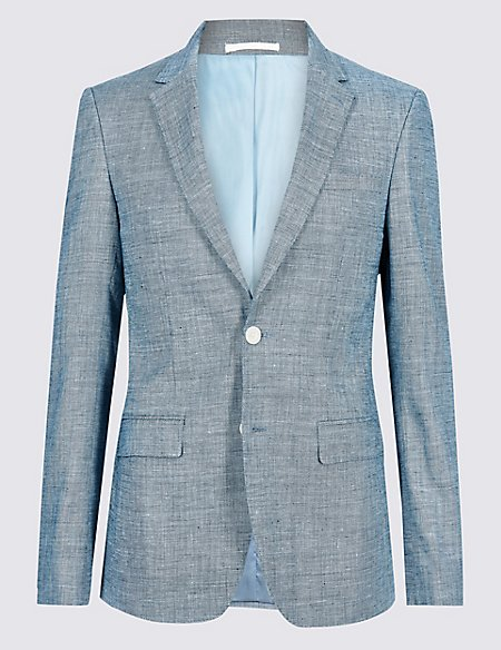 Linen Miracle Slim Fit Suit