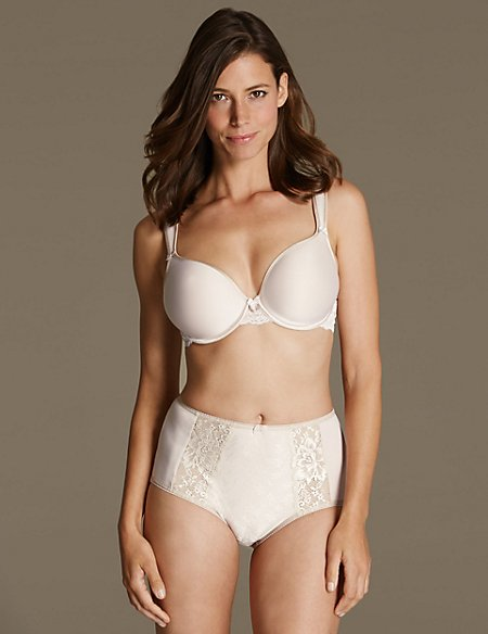 Lace Set Underwired Padded Full Cup DD-G