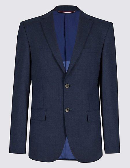 Indigo Tailored Fit Travel Suit