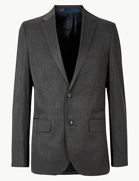 Grey Tailored Fit Suit