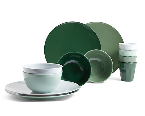 Melamine Green Picnic Collection