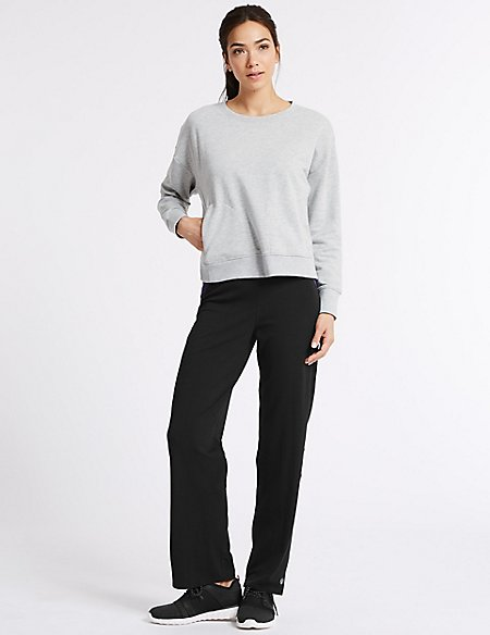 Cotton Rich Sweatshirt & Joggers Outfit
