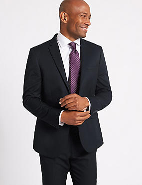 Navy Modern Slim Fit Suit