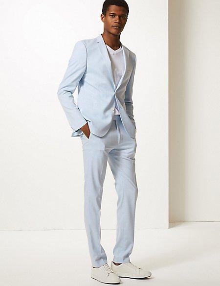 Blue Skinny Fit Suit