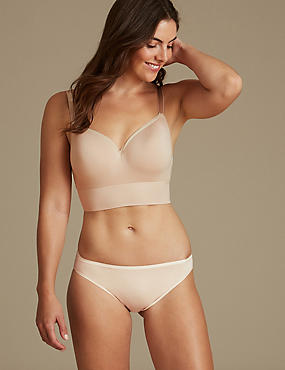 Cotton Modal Non-Wired Set with Longline Full Cup A-E