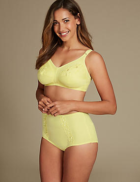 Embroidered Set with Full Cup B-G