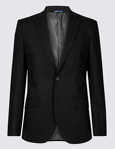 Big & Tall Black Regular Fit 3 Piece Suit