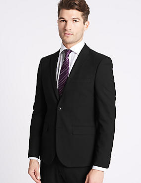 Black Modern Slim Fit Suit