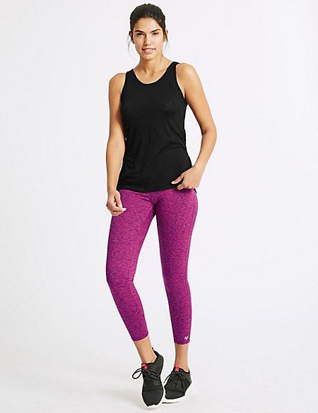 Burnout Vest Top & Leggings Outfit