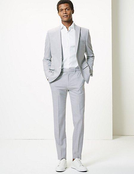 Grey Skinny Fit Suit