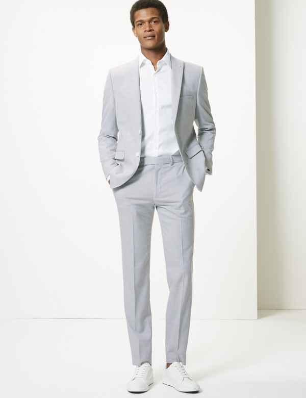 cf94479afbd Grey Skinny Fit Suit