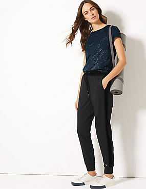 Short Sleeve Top & Jogger Outfit, , catlanding
