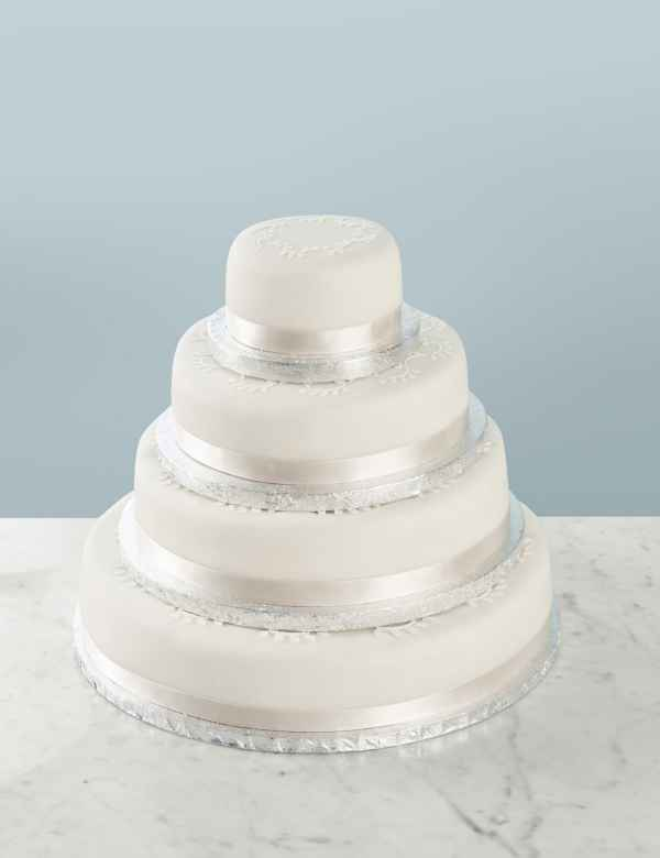 Build Your Own Traditional Wedding Cake