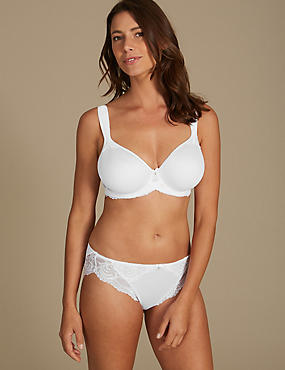 Sophia Lace Set with Underwired Spacer Balcony DD-GG