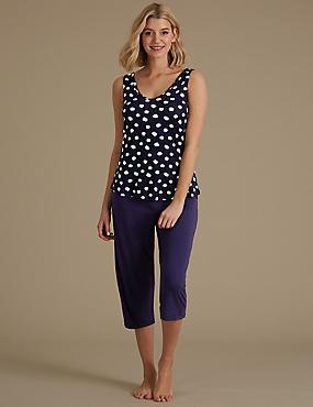 Built-up Shoulder Pyjama Set