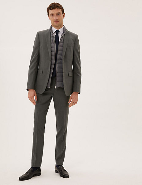 The Ultimate Charcoal Tailored Fit Suit