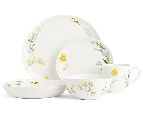 Watercolour Floral Dining Range