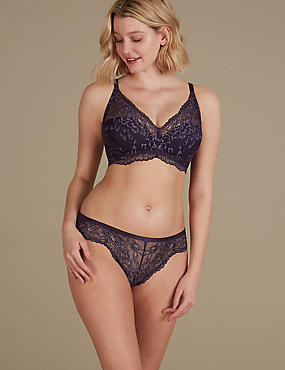 Louisa Padded Set with Plunge A-DD