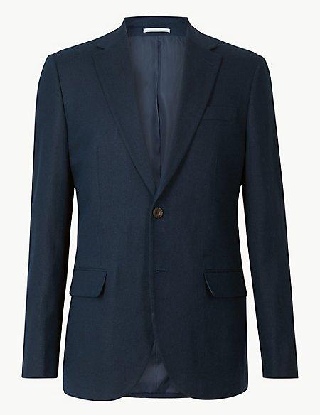 Textured Regular Fit Suit