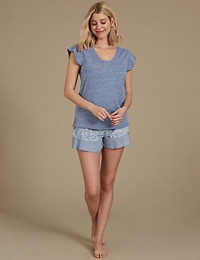 Short Sleeve Pyjama Set , , catlanding