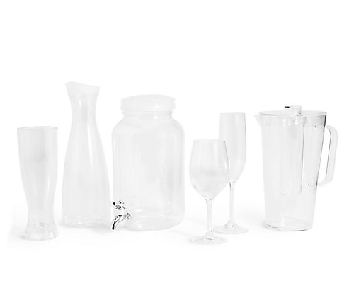 Clear Plastic Picnic Collection