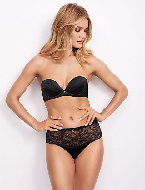 Silk & Lace Push Up Set with Multiway Bra