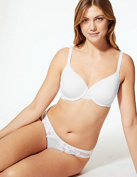 Perfect Fit Padded Set with Full Cup T-Shirt A-E