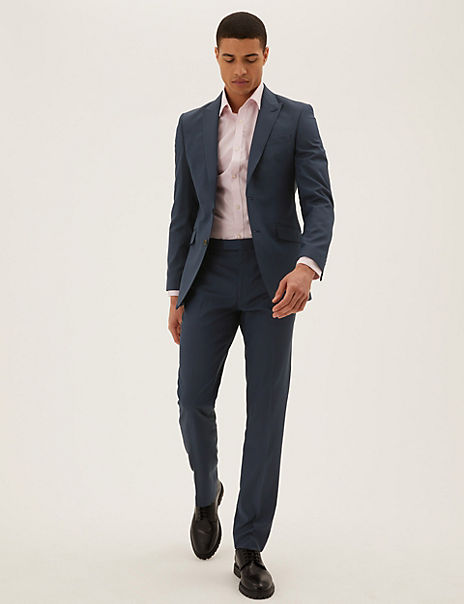 Slim Fit Suit with Stretch