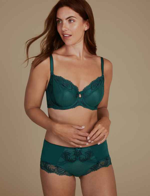 e3149eaa20 Sophia Lace Non-Padded Set with Full Cup
